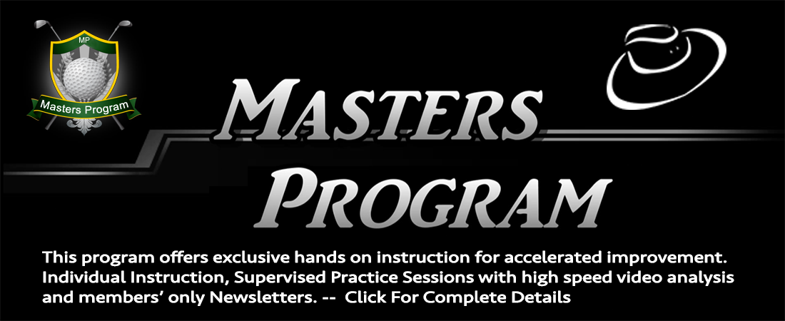 Scott Mahlberg PGA Masters Program